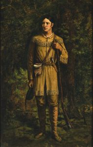 800px-Davy_Crockett_by_William_Henry_Huddle,_1889